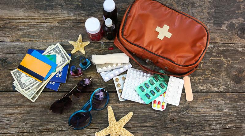 Botiquín De Primeros Auxilios Para Viajes
