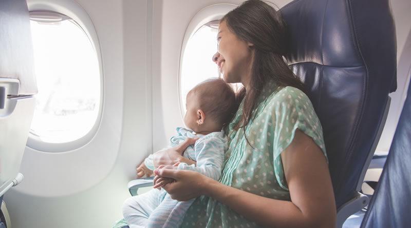 Viajar Con Un Bebe En Avión