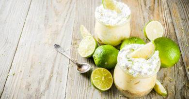 Mousse De Limón Y Yogur