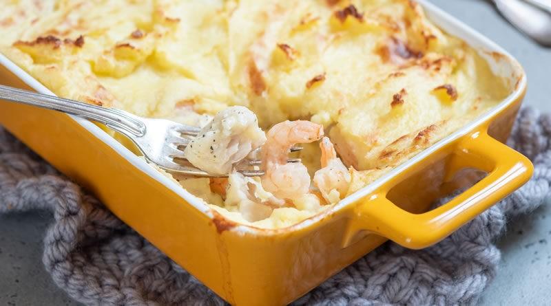 Pastel De Patatas Con Boloñesa De Marisco