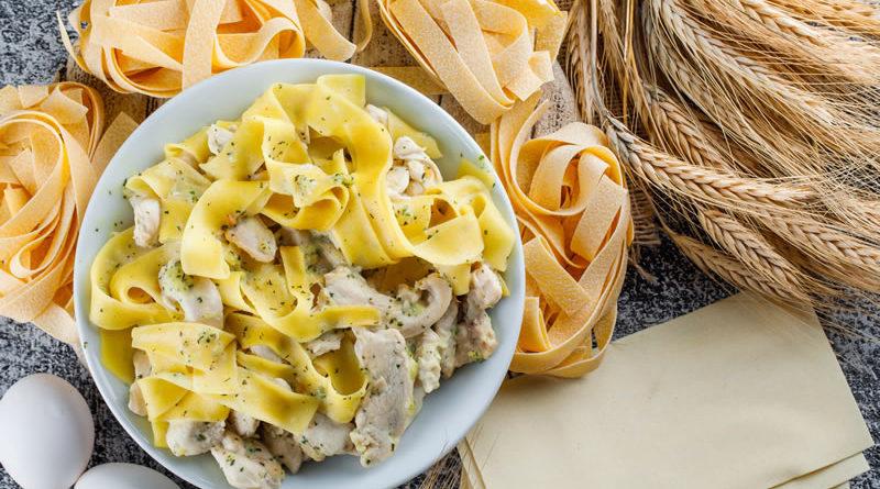 Pasta Italiana fresca al huevo