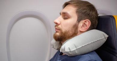 Poder Dormir En Un Avión