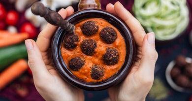 Kafta libanesa de ternera con menta y comino